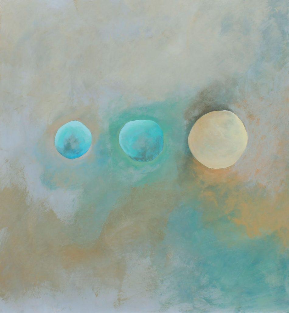akryl på MDF plate  50 x 60 komposisjon 2solgt